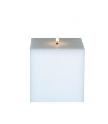 Square candle 10 cm in diameter