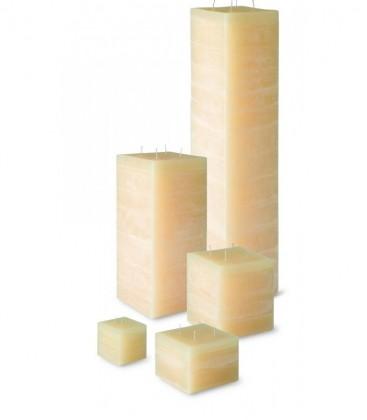 Bougie carrée 12 cm de diametre