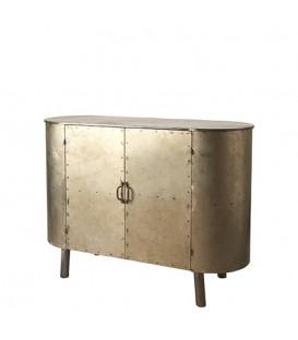 Cabinet en métal vintage