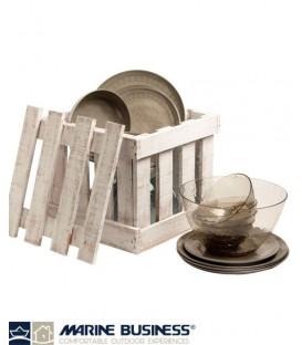 Set de table Rosette, coco