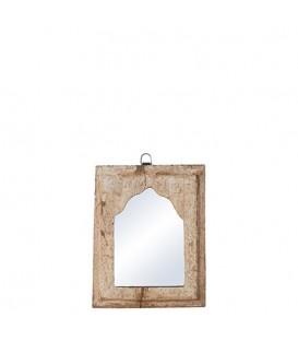 Petit miroir en bois