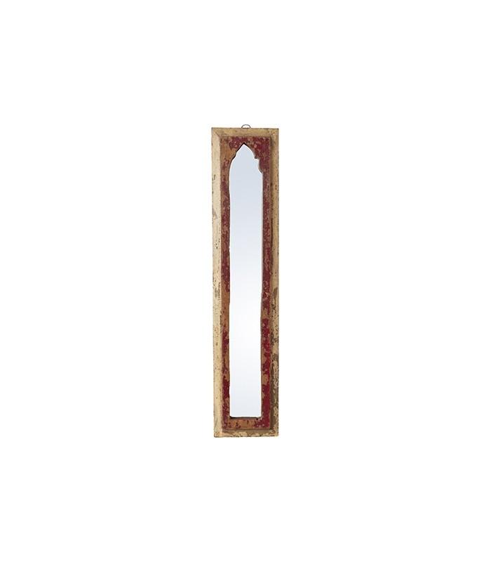 Grand miroir en bois koddelfrance for Grand miroir encadrement bois
