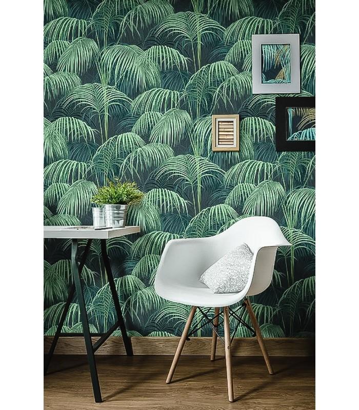 papier peint tropical jungle koddelfrance. Black Bedroom Furniture Sets. Home Design Ideas