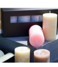 Cylinder candle box
