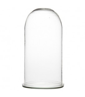 Glass bell with glass holder PETIT RIO