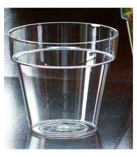 Pot à fleur transparent