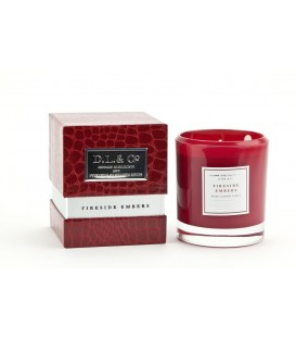 Bougie l'Homme Luxe Rouge flamboyant