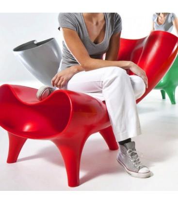 Chaise avec accoudoir Aqua