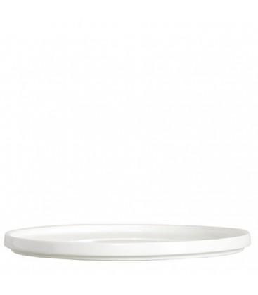 Plat rond en porcelaine