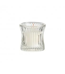 Bougie dans un verre à rayures (12 pièces)