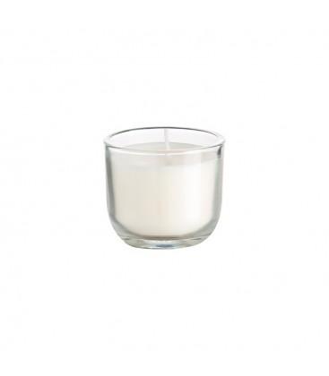 Bougie dans un verre