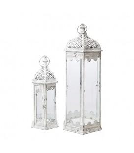 Grande lanterne blanche exterieur