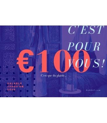 Carte cadeau 50 euro