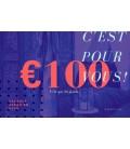 Carte cadeau 100 euro
