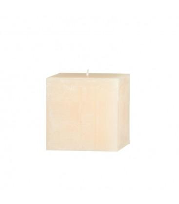 Bougie carrée 6cm de diamètre