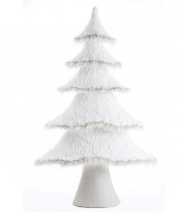 Sapin de Noel blanc