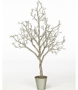 Arbuste déco paillété 140cm