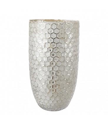 ELIN Tea light holder cross design XL white