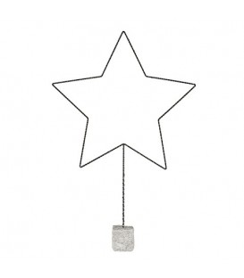 GLOW Star on stand L