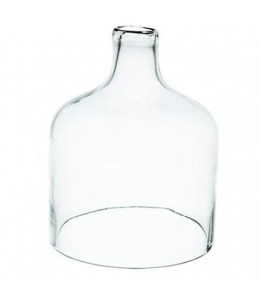 Cloche en verre ouverte