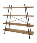 Meuble étagères en bois