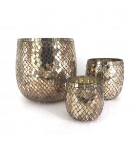 Vase en verre MOSAIC