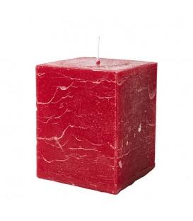 Bougie de Noel carrée (X2)