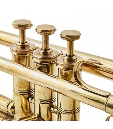 Trompette en laiton décorative