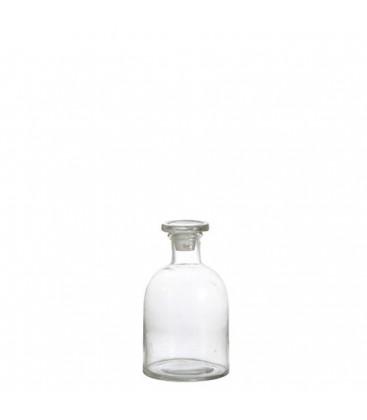 Pot en verre et couvercle en verre