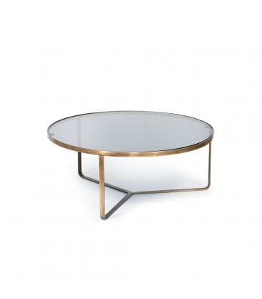 Brass nesting table