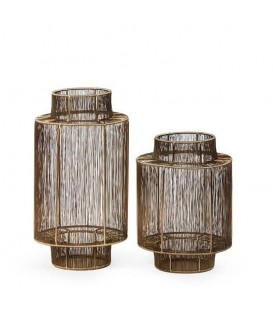 Lanterne laiton design