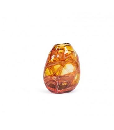 Vase en verre coloré Ambre