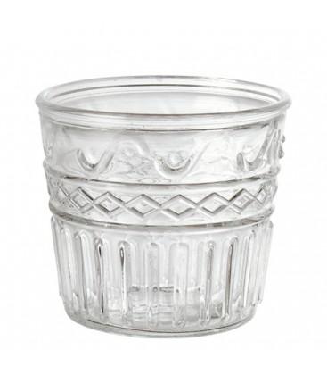 Vase en verre vendu par lot de 24 pièces
