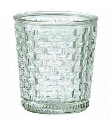 Grand vase en verre bi-color vendu par lot de 2
