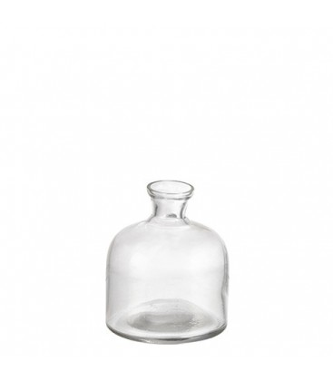 Vase en verre clair vendu lot de 24