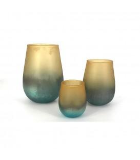 Vase en verre coloré RAINBOW