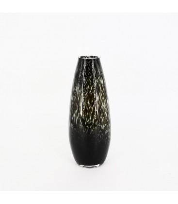 Vase en verre motifs léopard