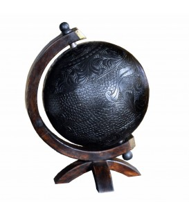 Globe cuir