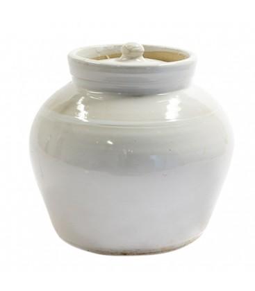 Bougie d'exterieur dans pot
