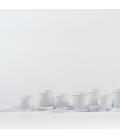 Photophores en verre Confetti