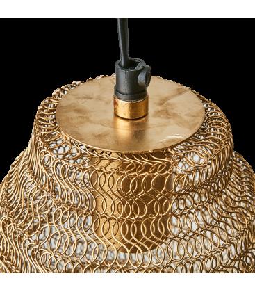 Lampe suspendue en laiton