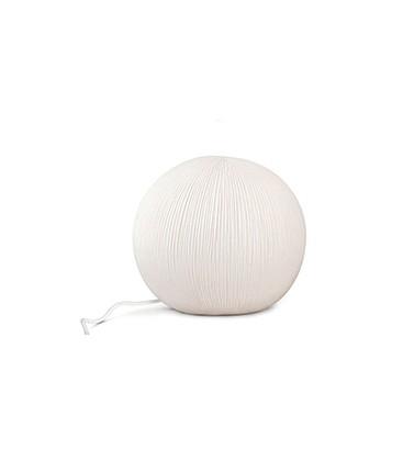 Lampe a poser boule porcelaine