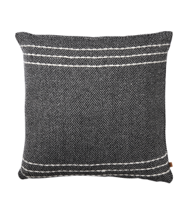 Housse de coussin coton recycle 50x50 cm