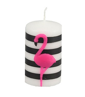 Bougie cylindre décoration