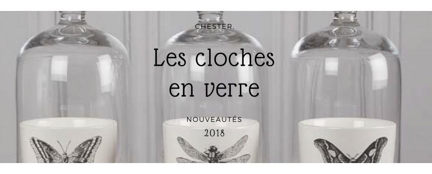 Cloches, vases et décoration en verre